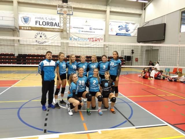 Foto: Juniorky a jejich výsledky za uplynulý víkend - 3:2 a 1:3 s Teplicemi, 1:3 a 2:3 s VK Kralupy