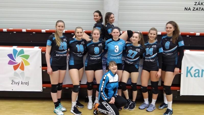 Juniorky vyhrály dvakrát 3:0 nad Třebínem