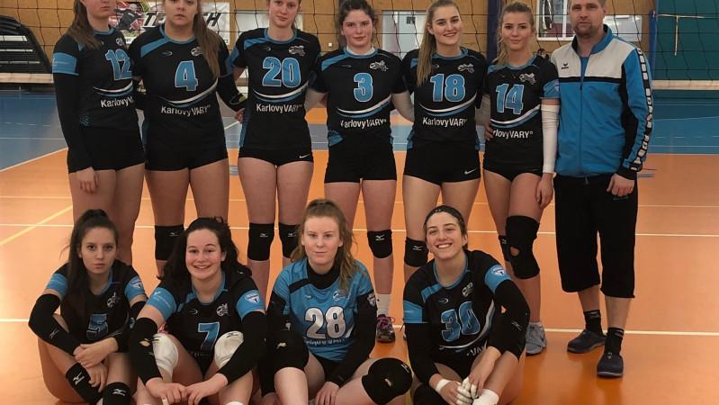Juniorky vyhrály dvakrát v Benešově a získaly cenných 6 bodů