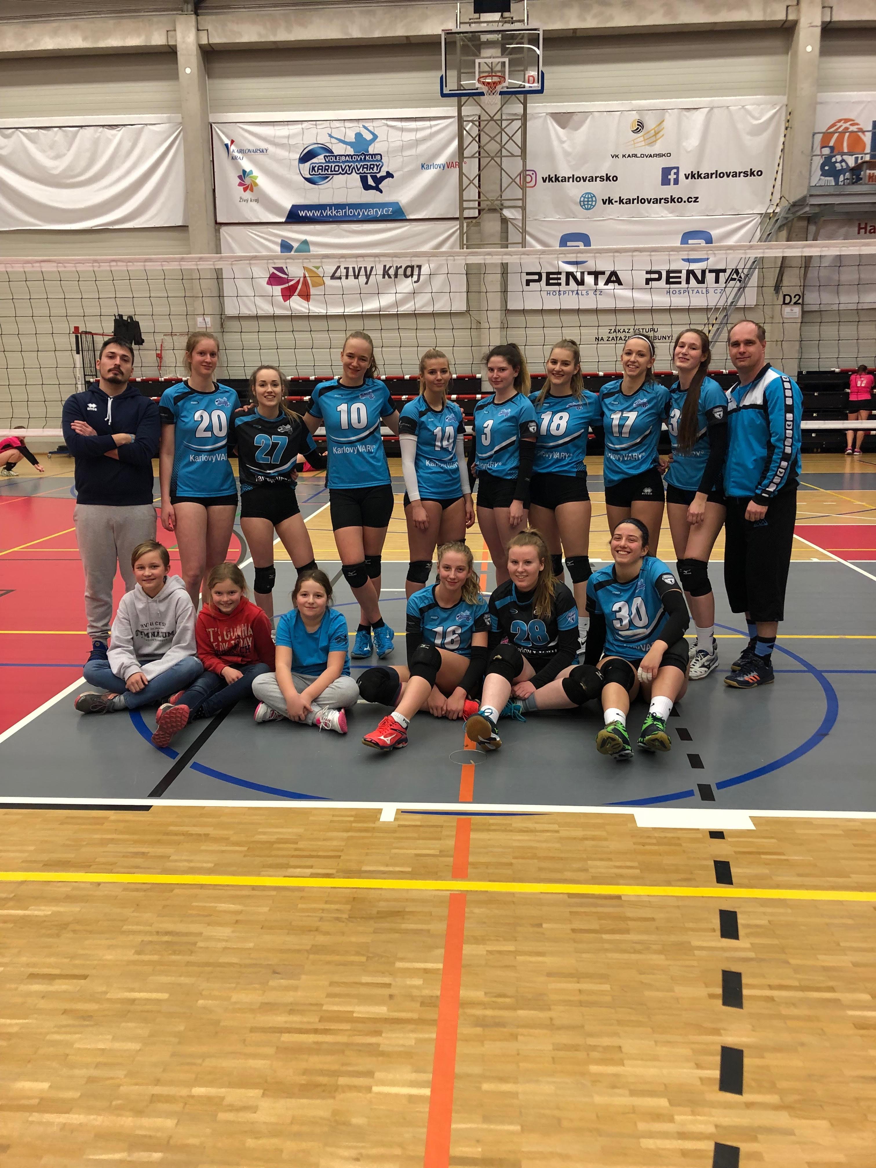 Foto: Juniorky v sobotu získaly 3 body z dvojzápasu z Benešovem