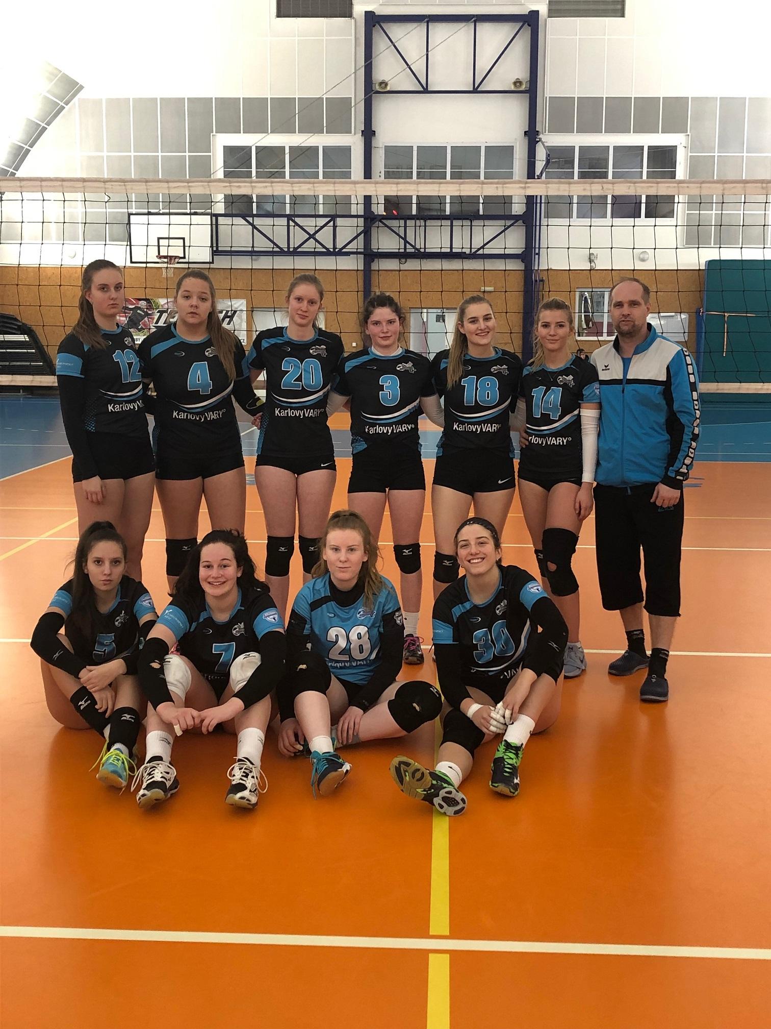 Foto: Juniorky vyhrály dvakrát v Benešově a získaly cenných 6 bodů