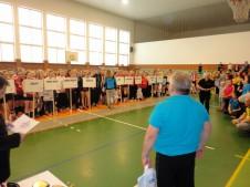 Mistrovství ČR ml. žákyň - Uherské Hradiště 2017